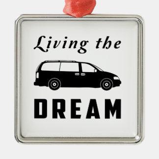 Living the Dream Christmas Ornament