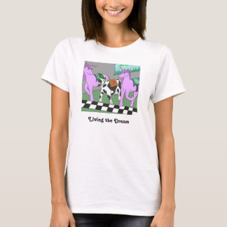 Living the Dream; the Unicow T-Shirt