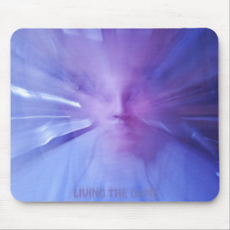 Living the game maouse pad mouse pad