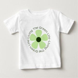 Living the Green Life Baby T-Shirt