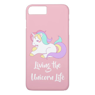 Living the Unicorn Life Apple Phone Case