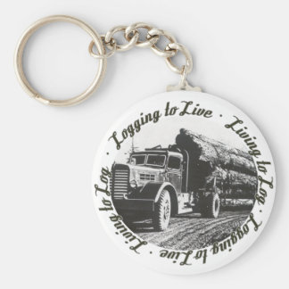 Living to Log, Logging to Live Key Ring