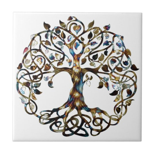 Living Tree Small Square Tile