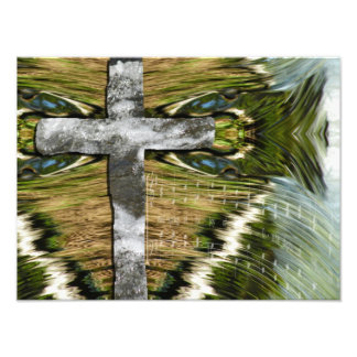 Living Water Cross, Ichthus, and Song Photo