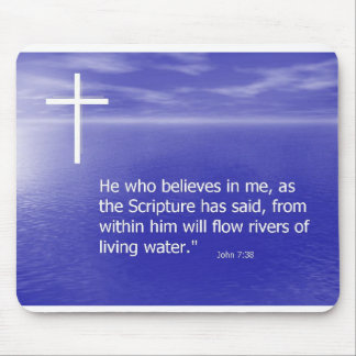 Living Waters Mouse Mat