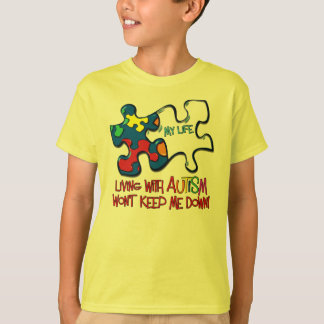 Living With Autism T-Shirt