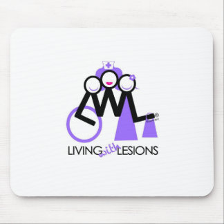 Living With Lesions Mouse Mat