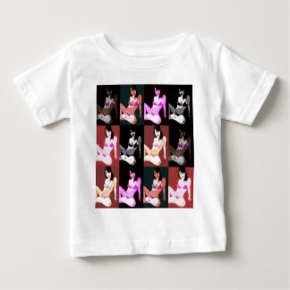 LivingDoll 7 Collage Baby T-Shirt