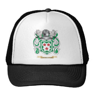 Livingston Coat of Arms (Family Crest) Hats