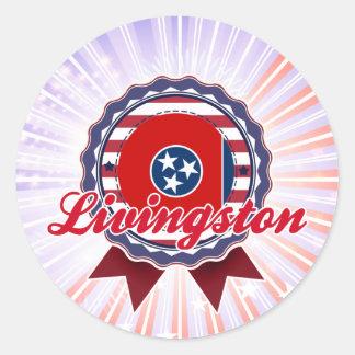 Livingston TN Round Sticker