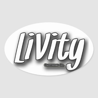 Livity Co. Slaps Oval Sticker