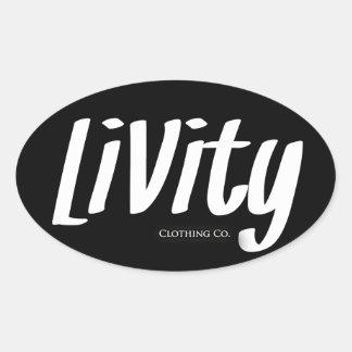 Livity Logo Slaps!!! Stickers