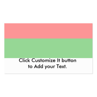 Livonian Colours, Estonia flag Pack Of Standard Business Cards