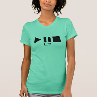 LIY Play Pause Stop Women's Vest T-Shirt