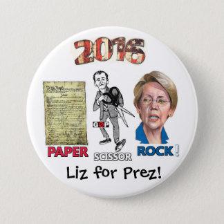 Liz for Prez! 7.5 Cm Round Badge