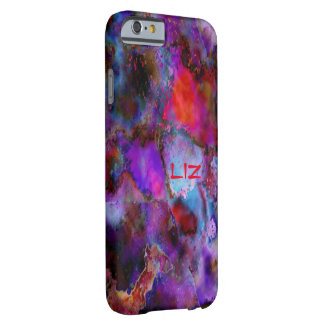 Liz Multicolor Veining iPhone 6 case Barely There iPhone 6 Case