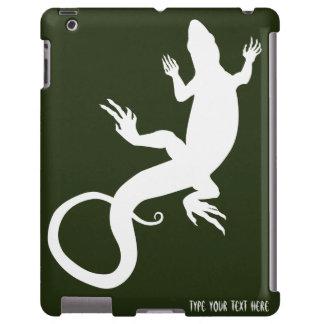Lizard Art iPad Case Personalized Reptile Case