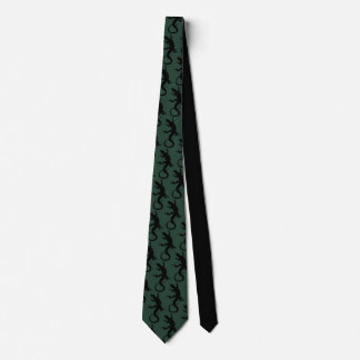Lizard Art Tie Cool Reptile Gifts & Lizard Apparel