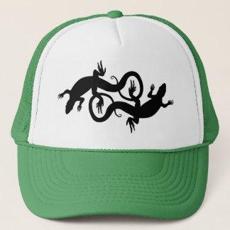 Lizard Art Trucker Cap Reptile Caps & Hats