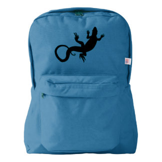 Lizard Backpack Reptile Art School Bags Customize