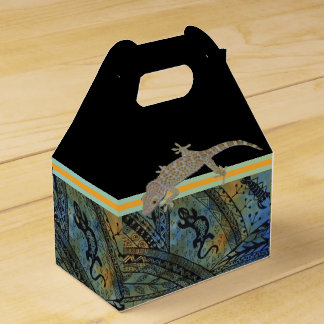 Lizard Batik Favour Box