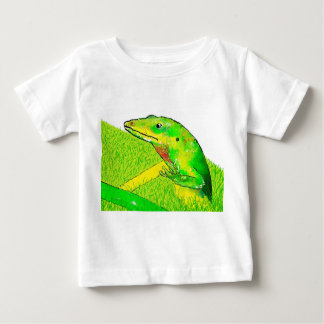 Lizard both sides, Bugly the butterfly, Baby T-Shirt