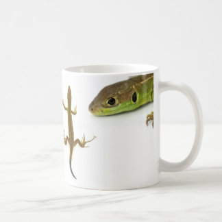 lizard coffee mug