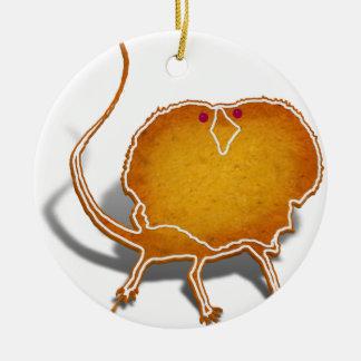 Lizard Cookie Round Ceramic Decoration