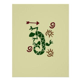 Lizard Flyer Design