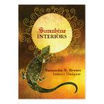 Lizard Holding the Sun: Interior Design Business