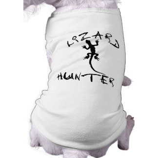 Lizard Hunter for Dogs and Pet Lovers Sleeveless Dog Shirt