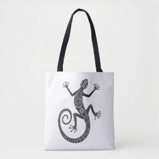 Lizard Or Salamander Doodle 2 Tote Bag