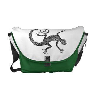Lizard Or Salamander Doodle Commuter Bag