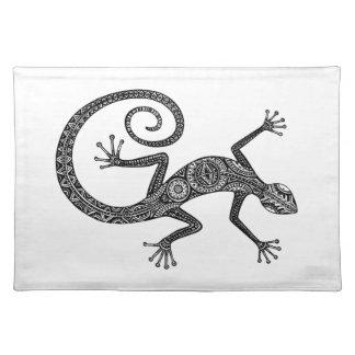 Lizard Or Salamander Doodle Placemat