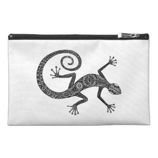 Lizard Or Salamander Doodle Travel Accessory Bag