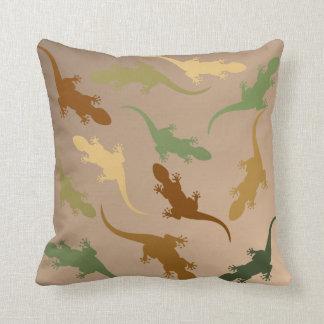 Lizard Pattern Throw Pillow