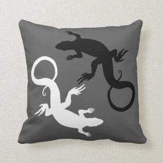 Lizard Pillows Reptile Art Pillows Lizard Decor