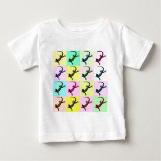 Lizard pop Art Baby T-Shirt