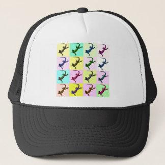 Lizard pop Art Trucker Hat
