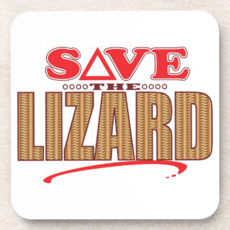 Lizard Save Coaster