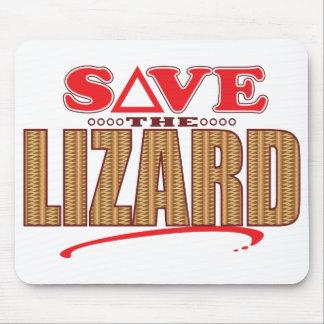 Lizard Save Mouse Pad