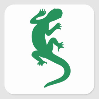 Lizard Square Sticker