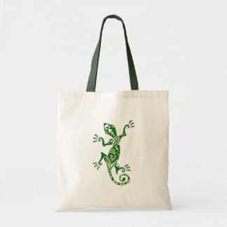 Lizard Tattoo Tote Bag