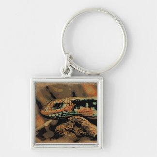 Lizard to the peep keychains