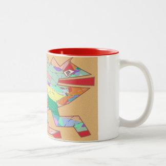 Lizard Two-Tone Coffee Mug