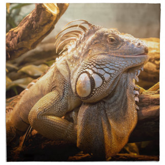 Lizard Up Close Napkin