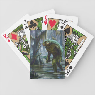 Lizardman of Scape Ore Swamp Bicycle Playing Cards