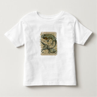 Lizards, design for a tile (w/c on paper) toddler T-Shirt