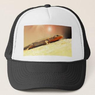 Lizart heat trucker hat