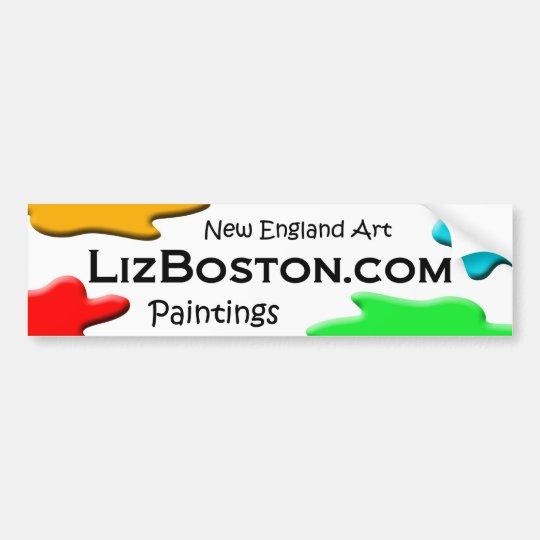 LizBoston.com Bumper Sticker